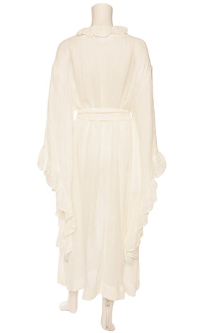 Back view of LISA MARIE FERNANDEZ  Robe/Coverup/dress