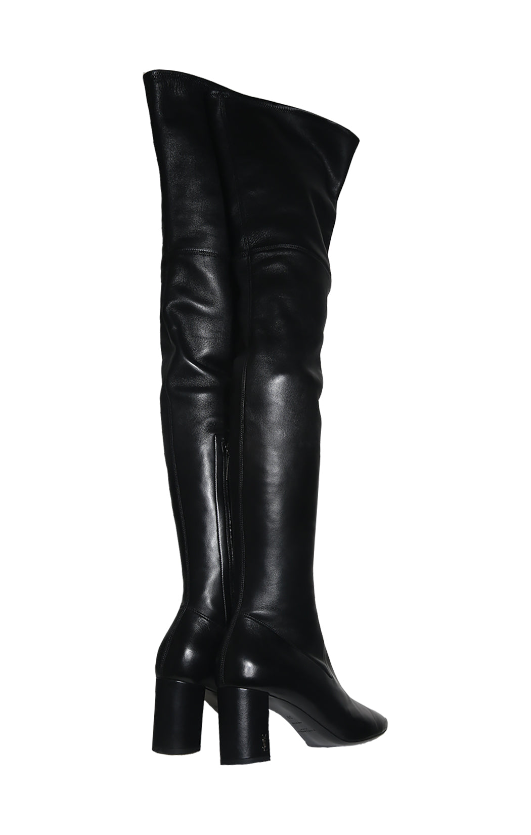 Back view of SAINT LAURENT Over The Knee Boots