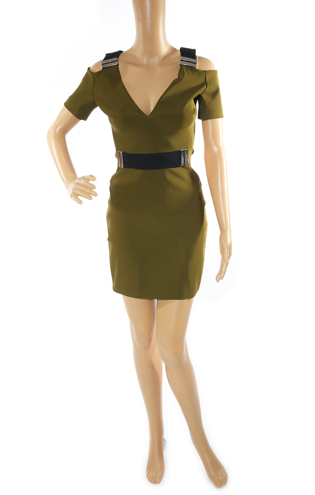 Front view of MUGLER Dress Size: FR 38 (US 6)