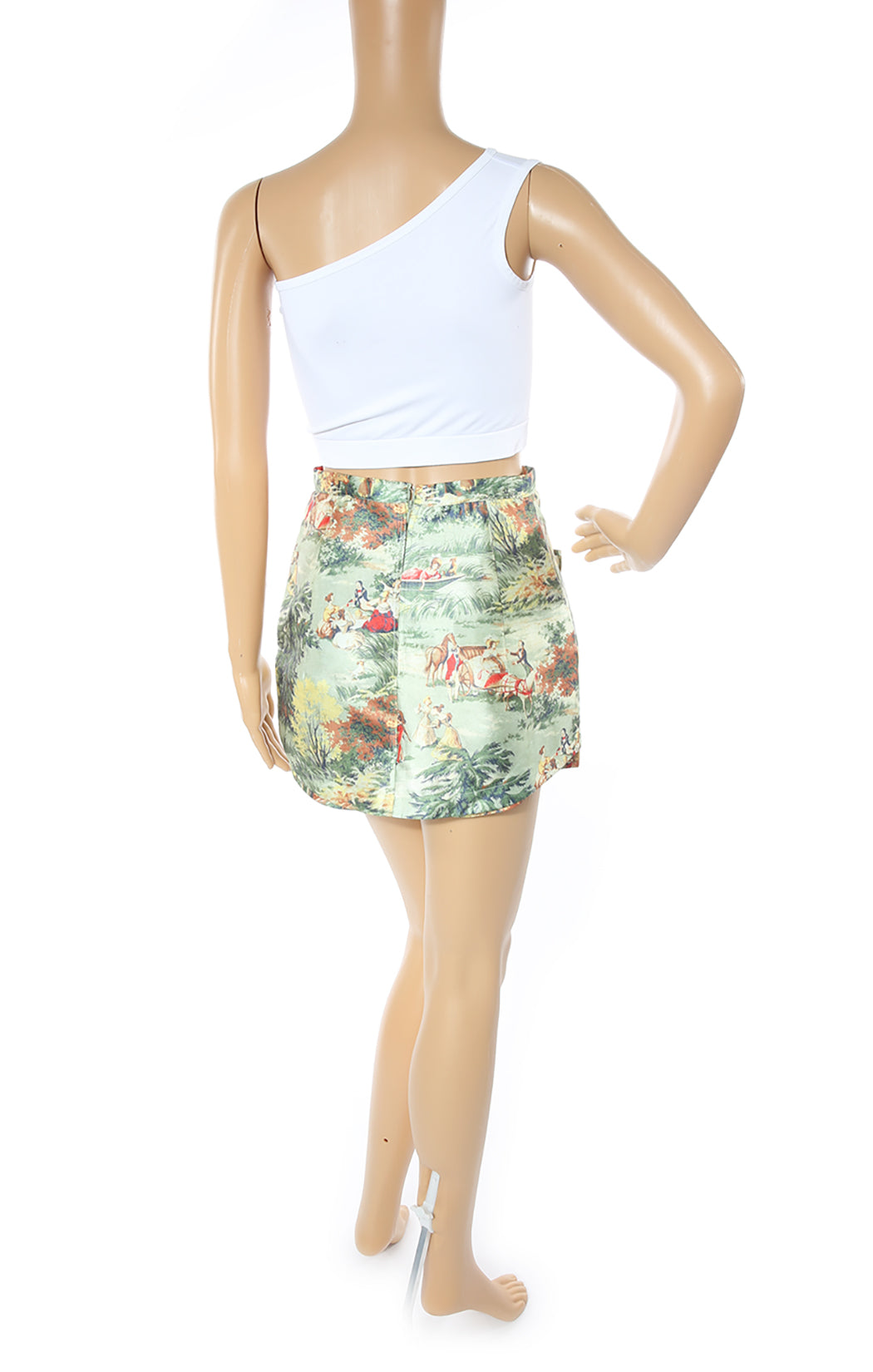 Back view of ALICE McCALL Mini Skort