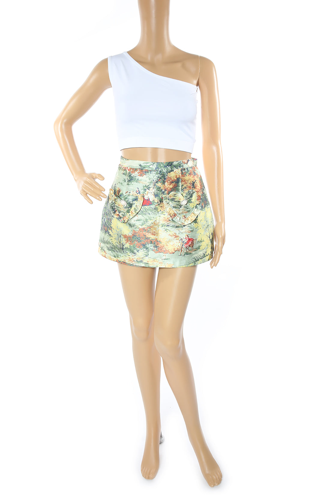 Front view of ALICE McCALL Mini Skort Size: No tags, fits like US 2-4