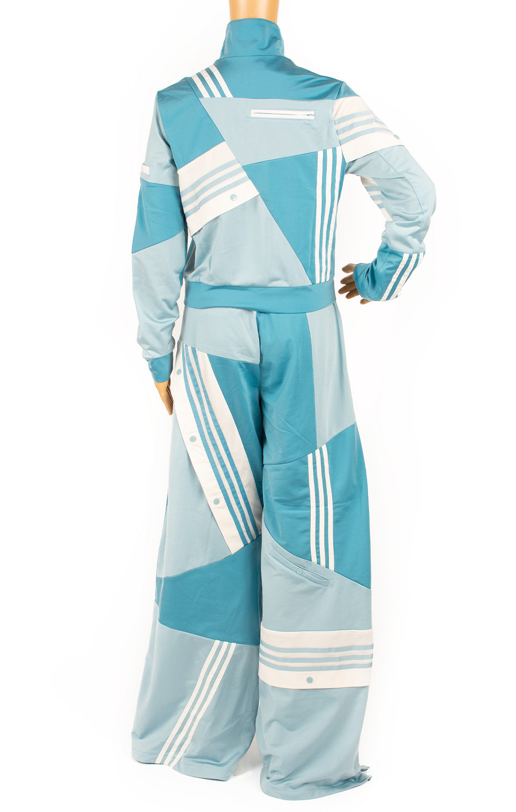 Back view of ADIDAS with Danielle Cathari Track suit