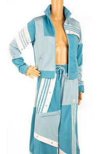 Closeup of ADIDAS with Danielle Cathari Track suit Size: Medium