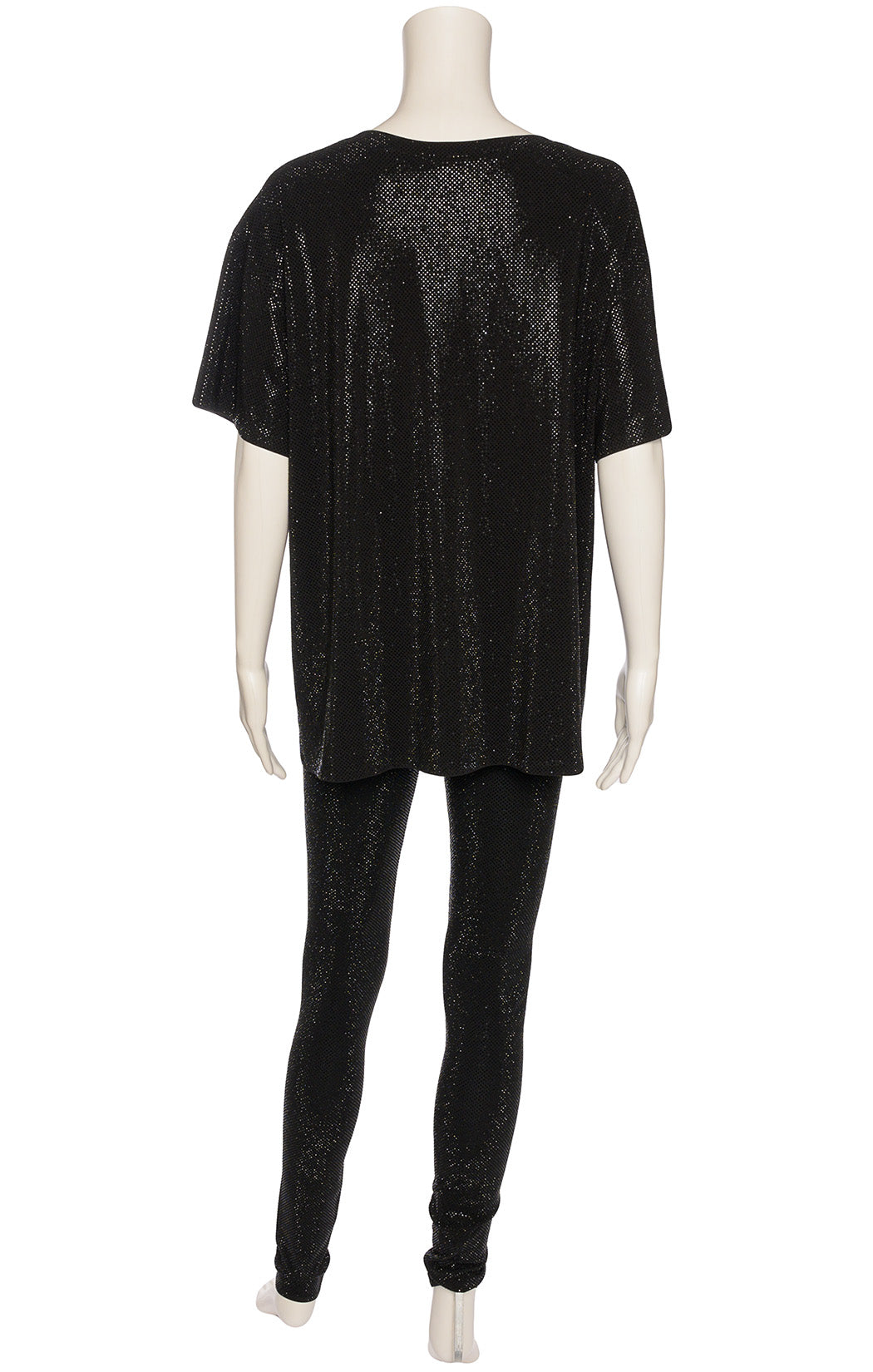 black beaded shirt