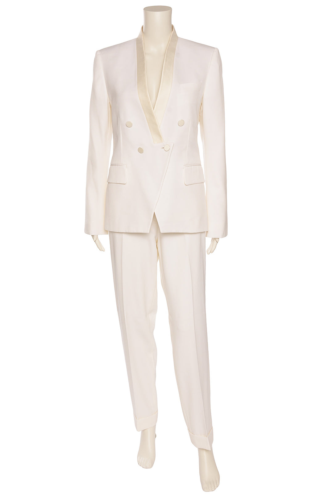 STELLA MCCARTNEY  Pantsuit Size: Jacket IT 44 (comparable to US 8) Pants IT 46 (comparable to US 10)