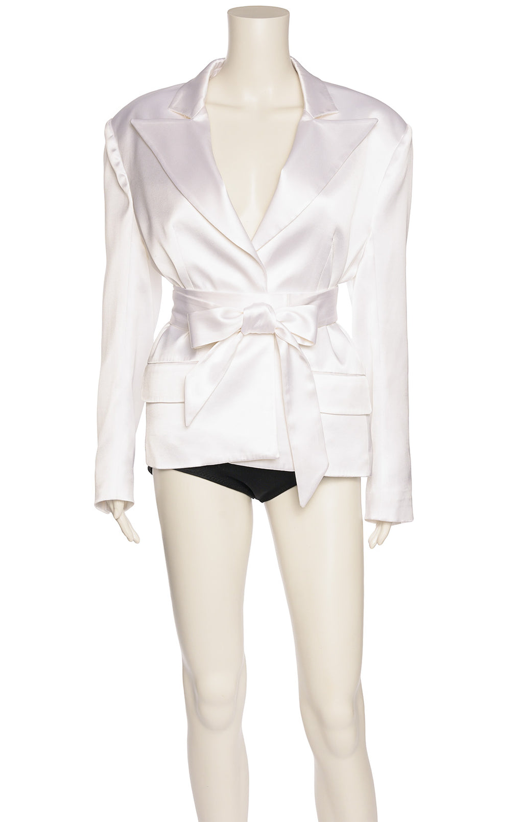 White satin Jacket