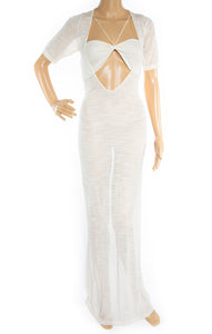 Front view of JACQUEMUS Dress Size: FR 36 (US 4)
