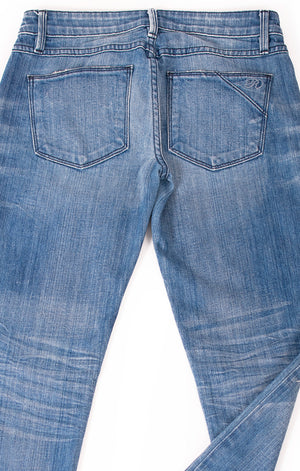 Closeup view of RAVEN DENIM Jeans