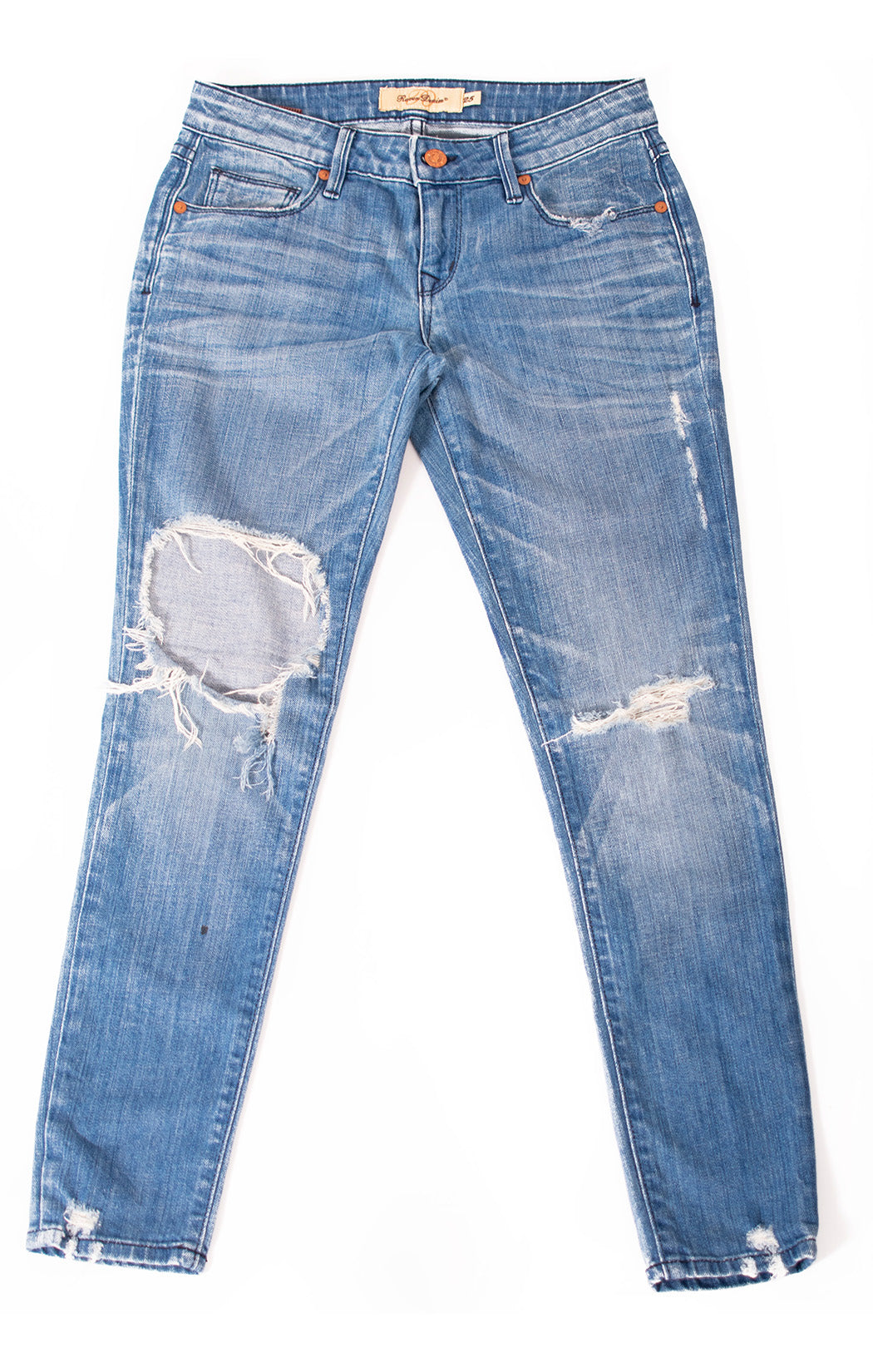 "Front view of RAVEN DENIM Jeans Size: 25""W"