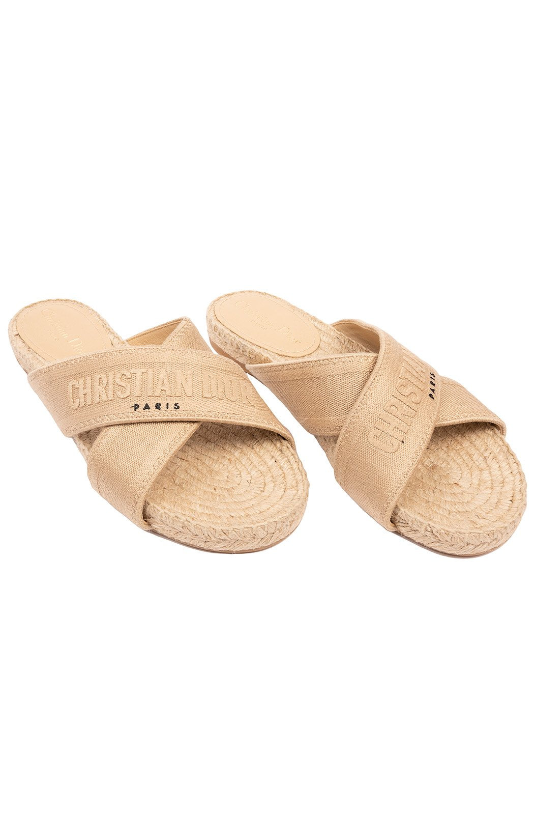 CHRISTIAN DIOR Sandals/slides Size: 39/ 9