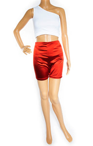 Front view of ARE YOU AM I Shorts Size: Medium