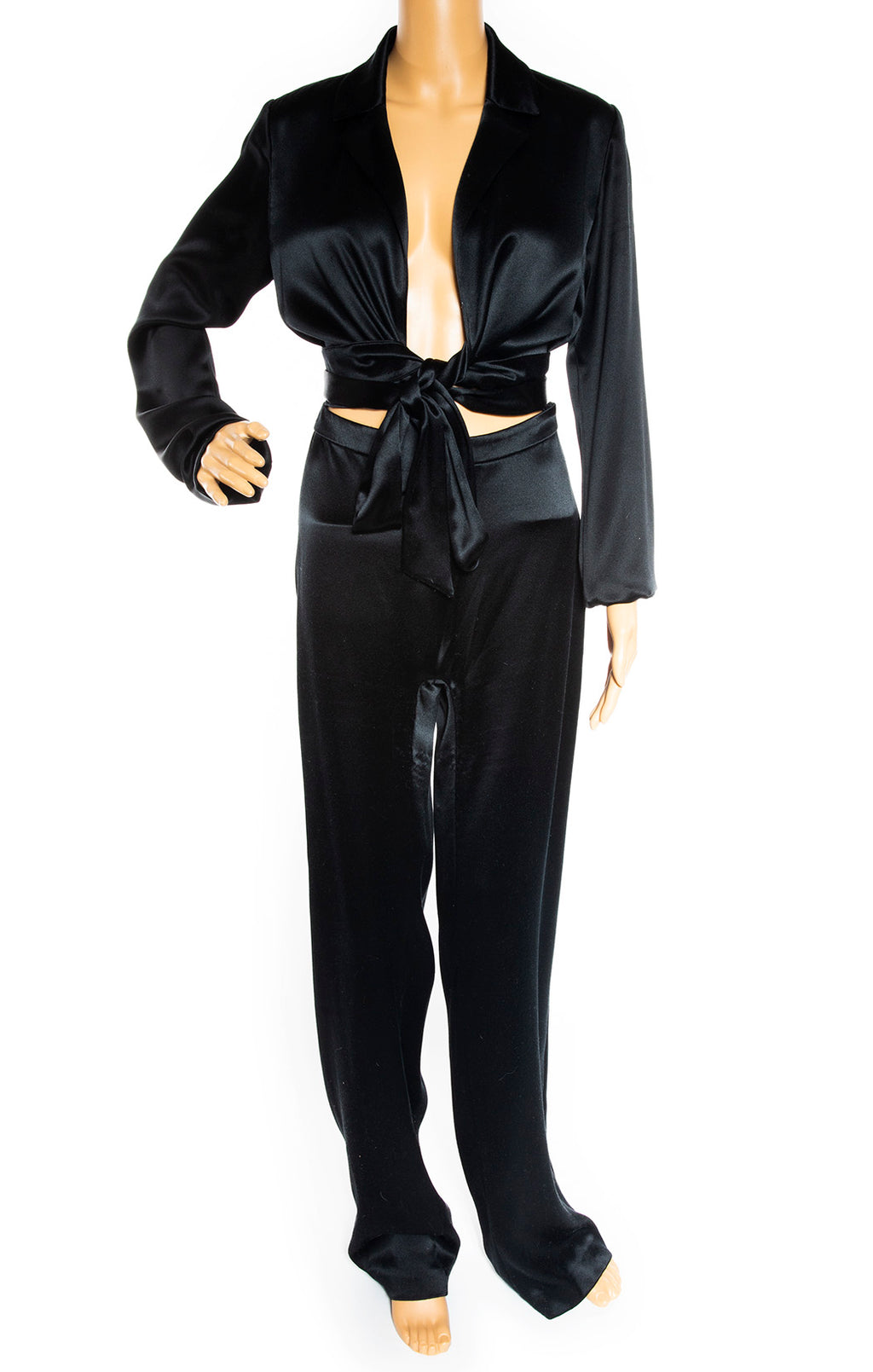 Front view of AREA Jumpsuit Size: US 8