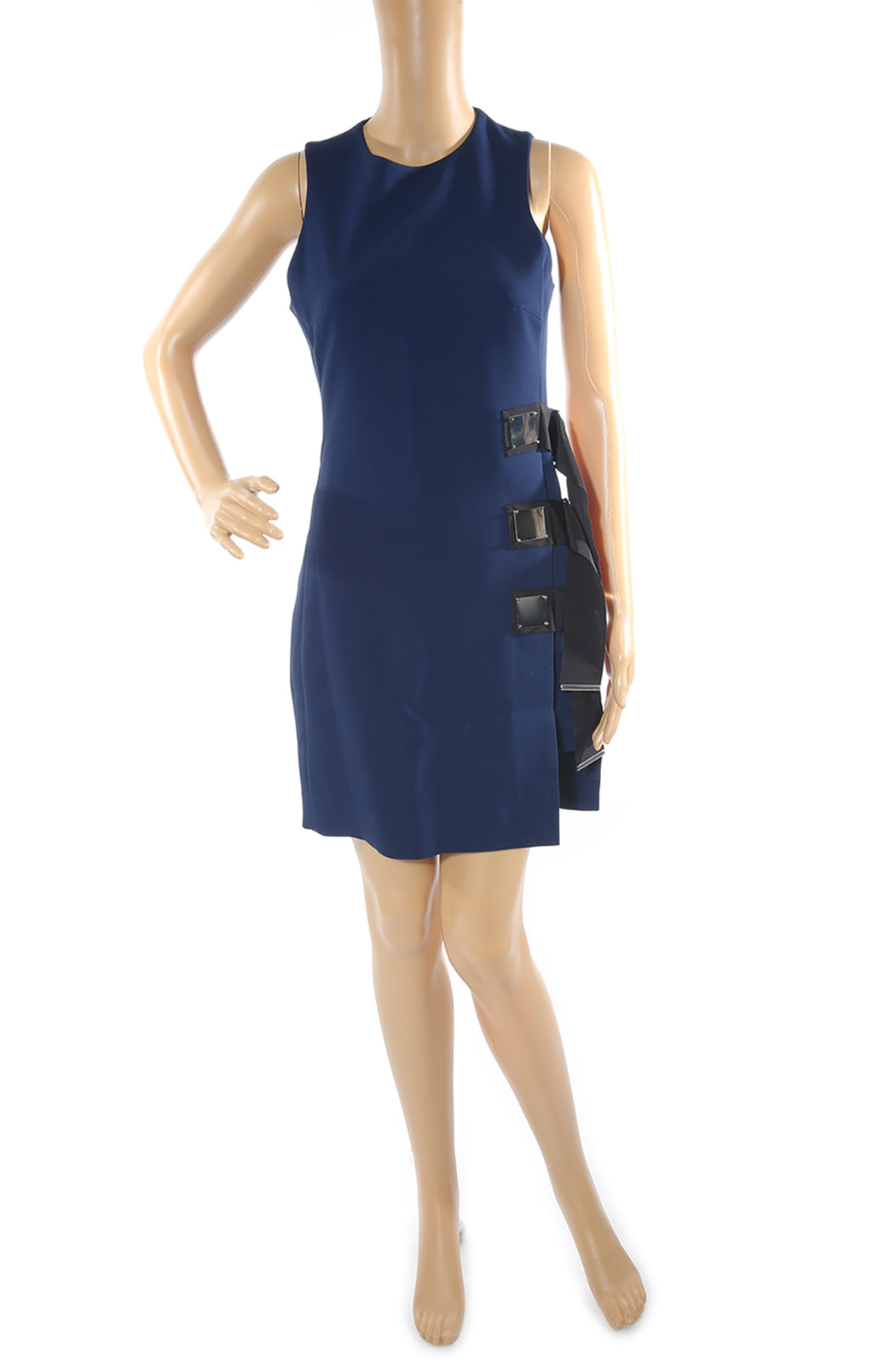 Front view of DAVID KOMA Dress with Tags Size: US 10