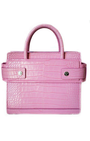 "GIVENCHY Alligator Mini Horizon Handbag Size: Height 7.5"", Width 8.5"", Depth 4.5"", Shoulder Strap 20"""