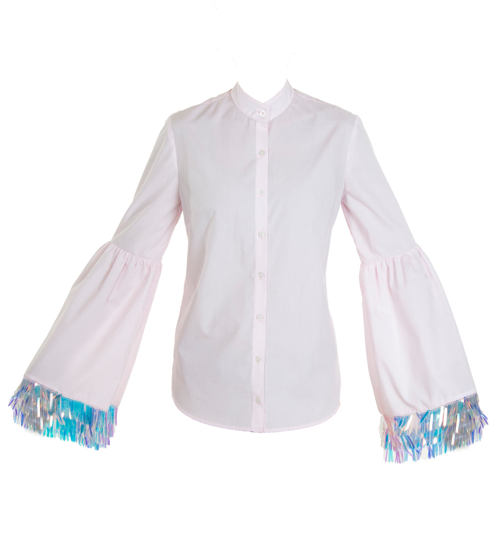 Beatrix Sequin Fringed Blouse (PREORDER)