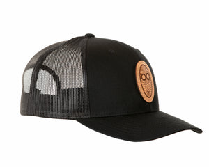 Maccado Trucker Hat Leather Patch