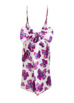 DAHLIA BOW PRINT BOW BACK DRESS (PRE-ORDER)