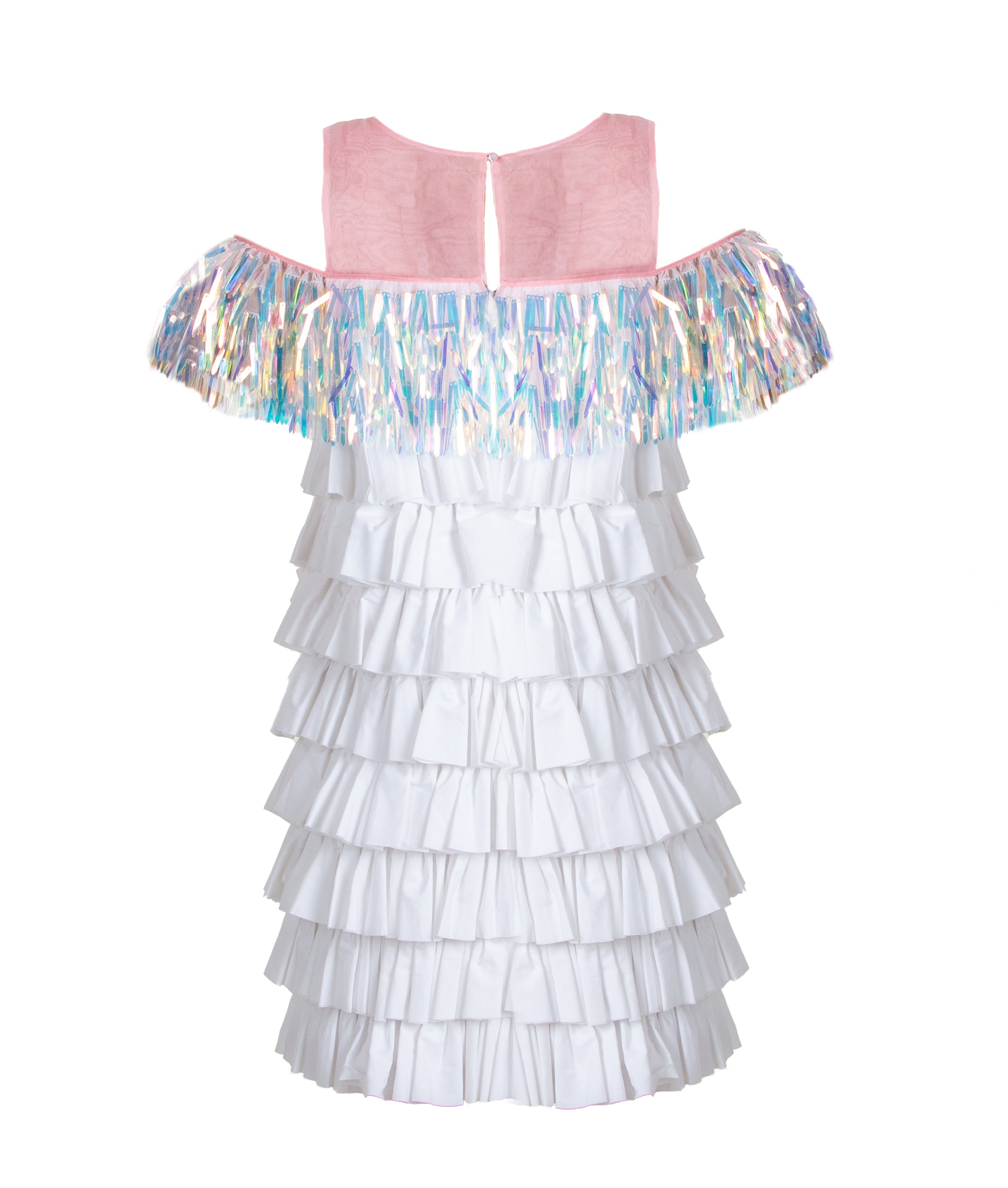 CHLOE RUFFFLE DRESS