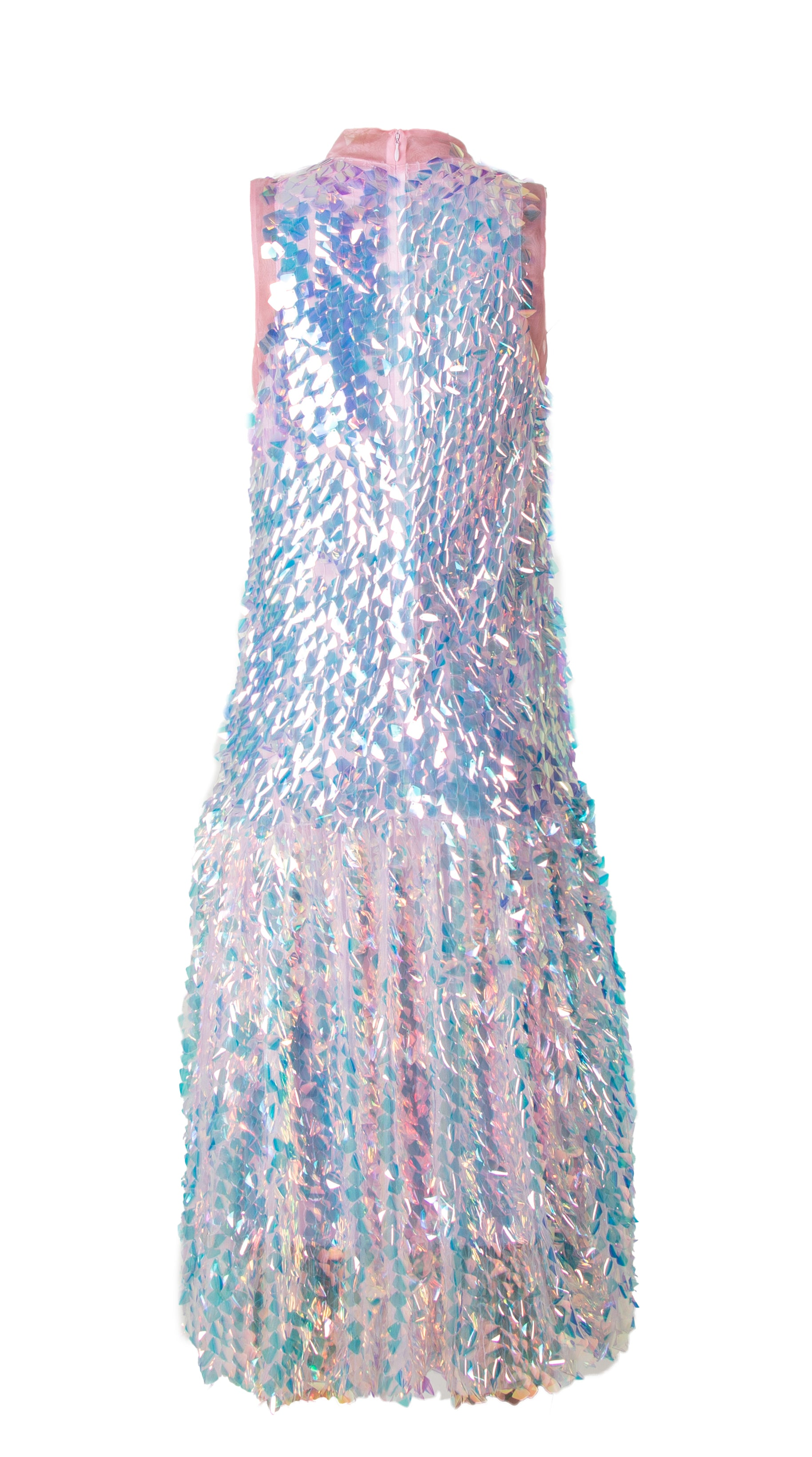 SELENA SEQUIN DROP WAIST DRESS