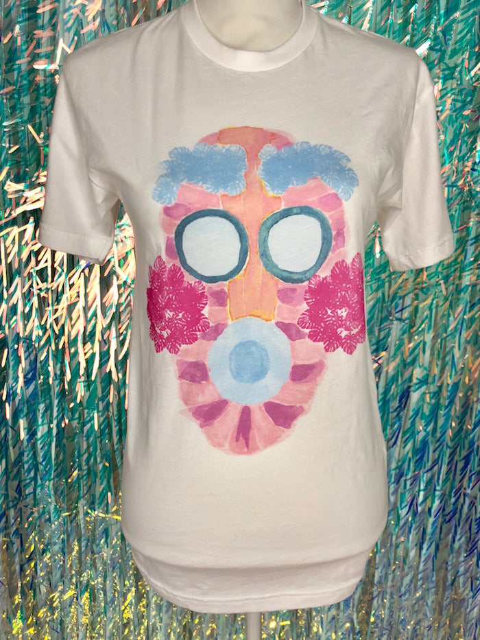 Limited Edition FLORAL MACCADO MASK TEE