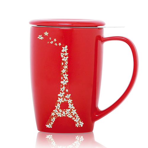 french-mug-red