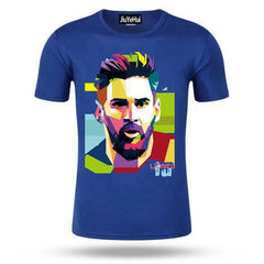 Lionel Messi T Shirt Barcelona Men's