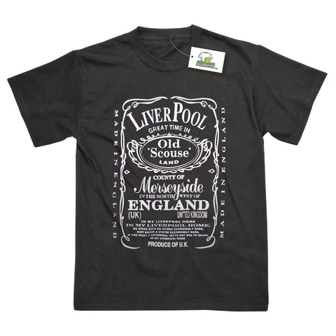 Liverpool Old Scouse Souvenir Printed T-Shirt