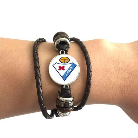 Trendy Team Logo Bracelet