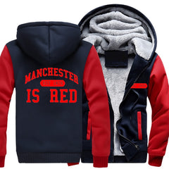 Manchester United Fashion Hoodie Warm Jackets
