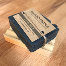 Load image into Gallery viewer, Groovy Hemu Wood Soap Dish