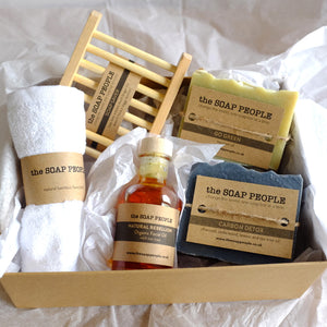 FACE OF THE FUTURE SOAP & FACIAL OIL GIFT BOX