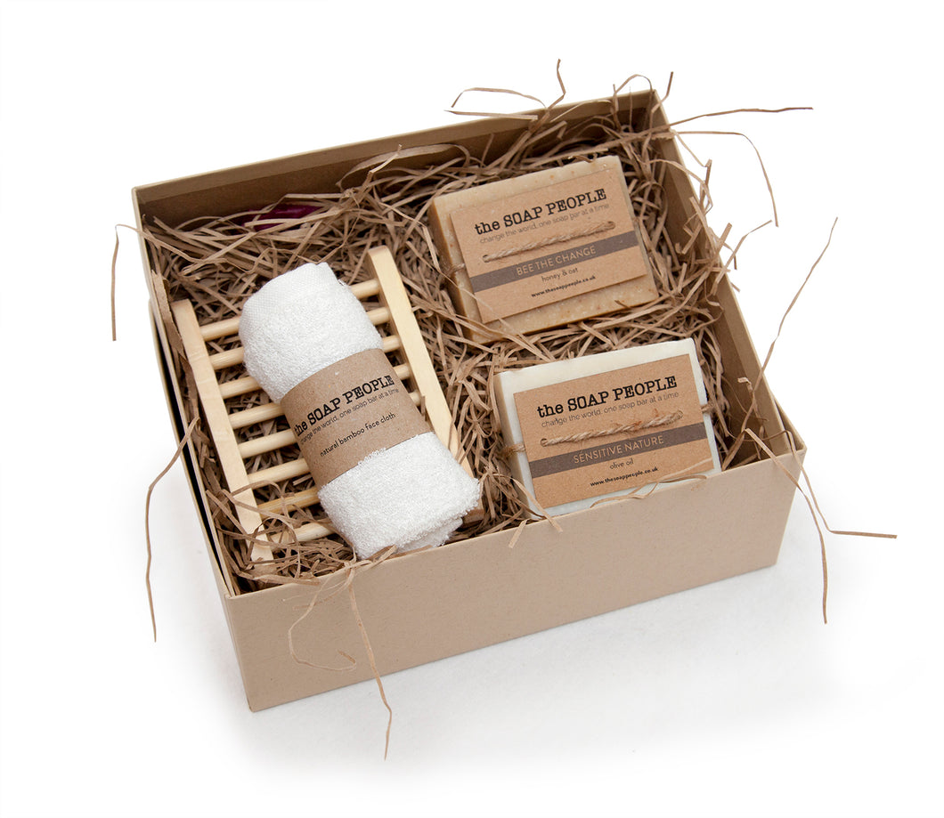 GENTLY DOES IT GIFT SET BOX