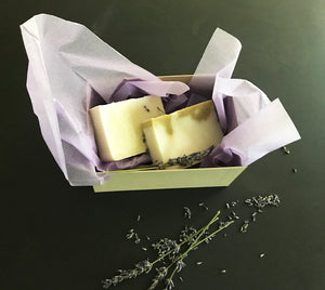 Mother's Day Gift Box - Lavender and Olive Oil Soaps