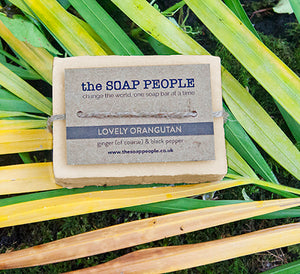 LOVELY ORANGUTAN SOAP BOX SET
