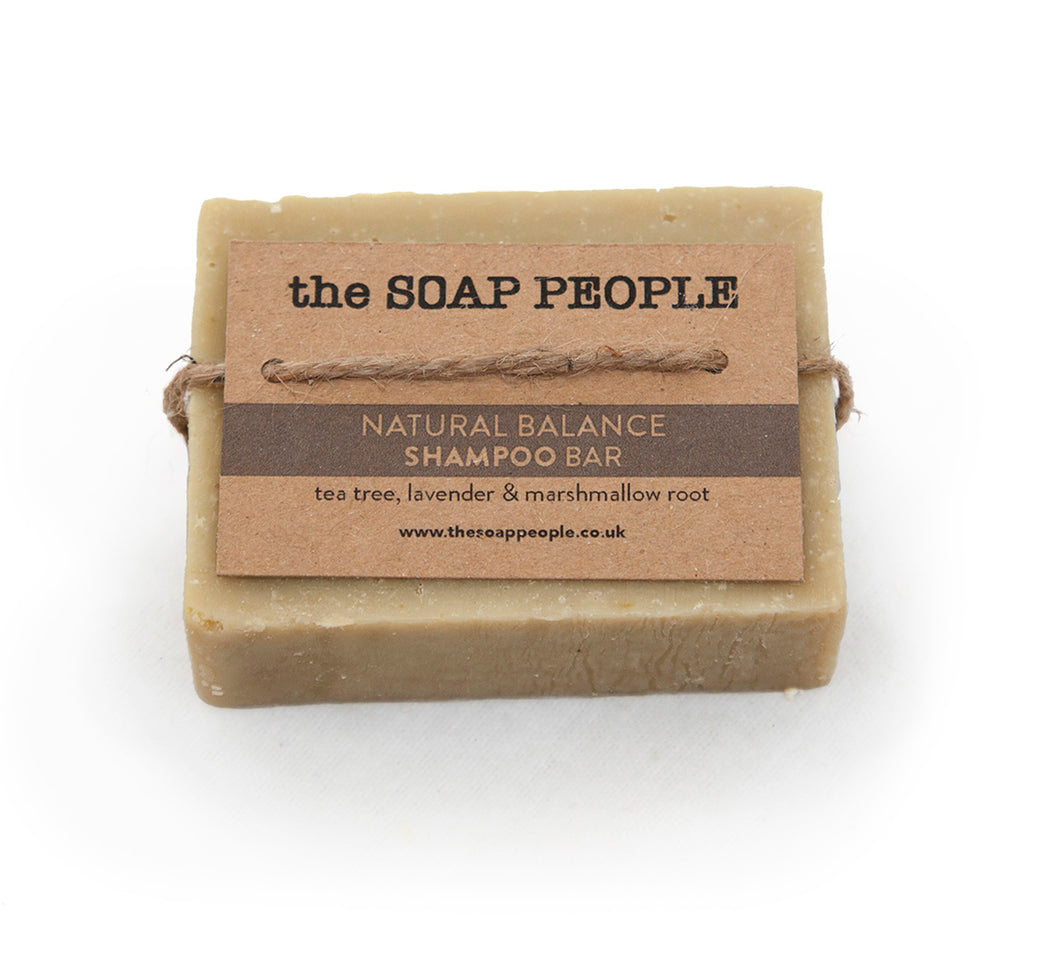 NATURAL BALANCE SHAMPOO BAR - normal to oily hair