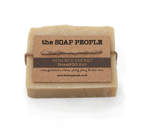RENEWED ENERGY SHAMPOO BAR - dry to normal hair