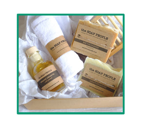 SENSITIVE SKIN SOAP & FACIAL OIL GIFT BOX
