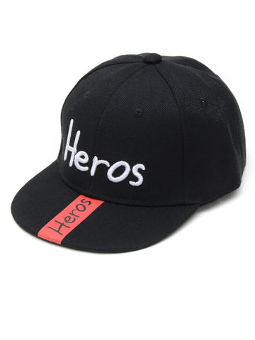 Boys Embroidered Letter Snap Cap - QAS KIDS TORE