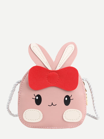 Kids Rabbit Design Crossbody Bag - QAS KID  STORE