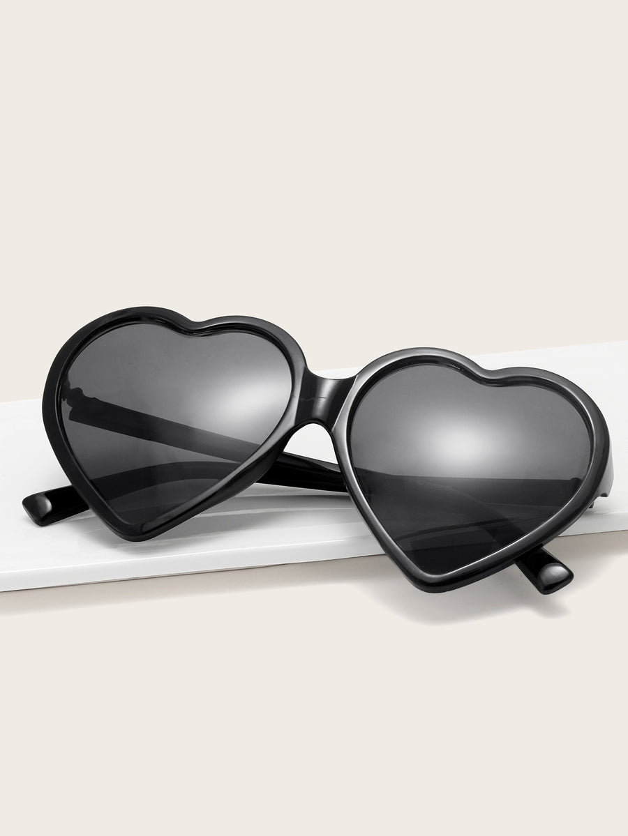 Kids Heart Shaped Frame Sunglasses - QAS KIDS TORE
