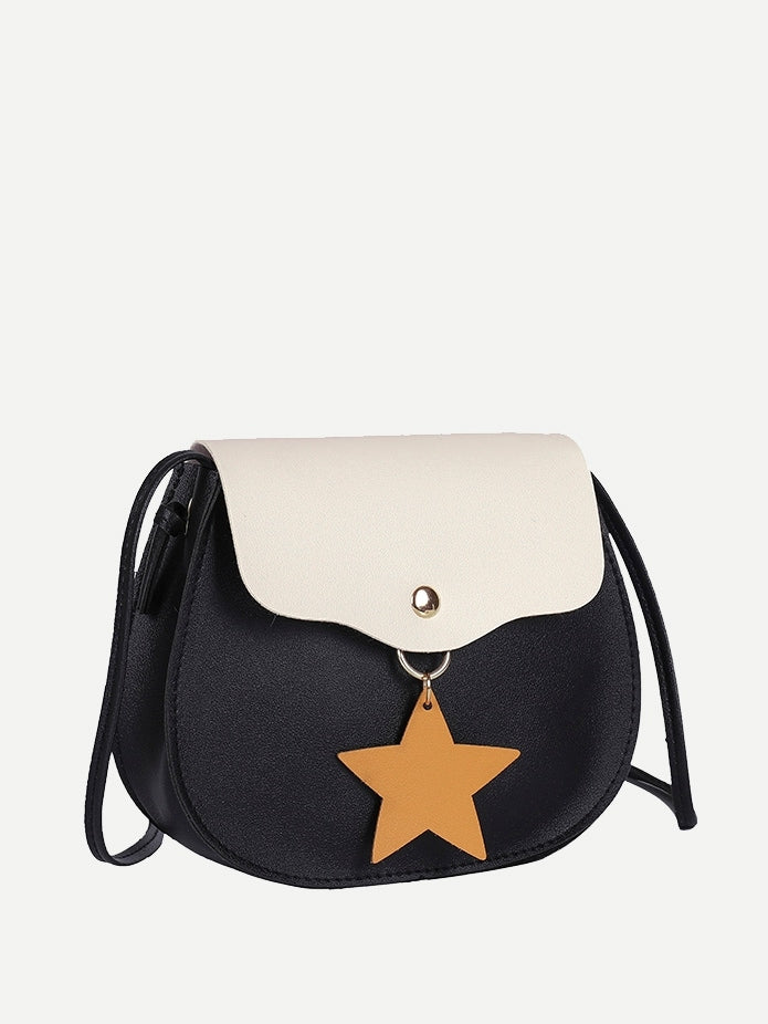 Kids Star Charm Flap Bag - QAS KIDS TORE