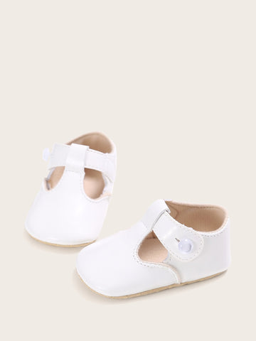 Baby Girls Cut Out Detail Flats - QAS KIDS TORE
