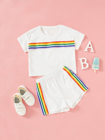 Girls Rainbow - QAS KID  STORE