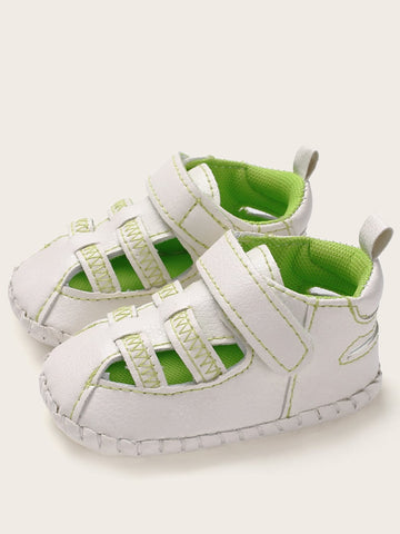 Baby Boys Velcro Strap Sneakers - QAS KID  STORE