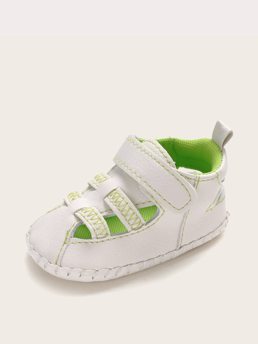 Baby Boys Velcro Strap Sneakers - QAS KIDS TORE