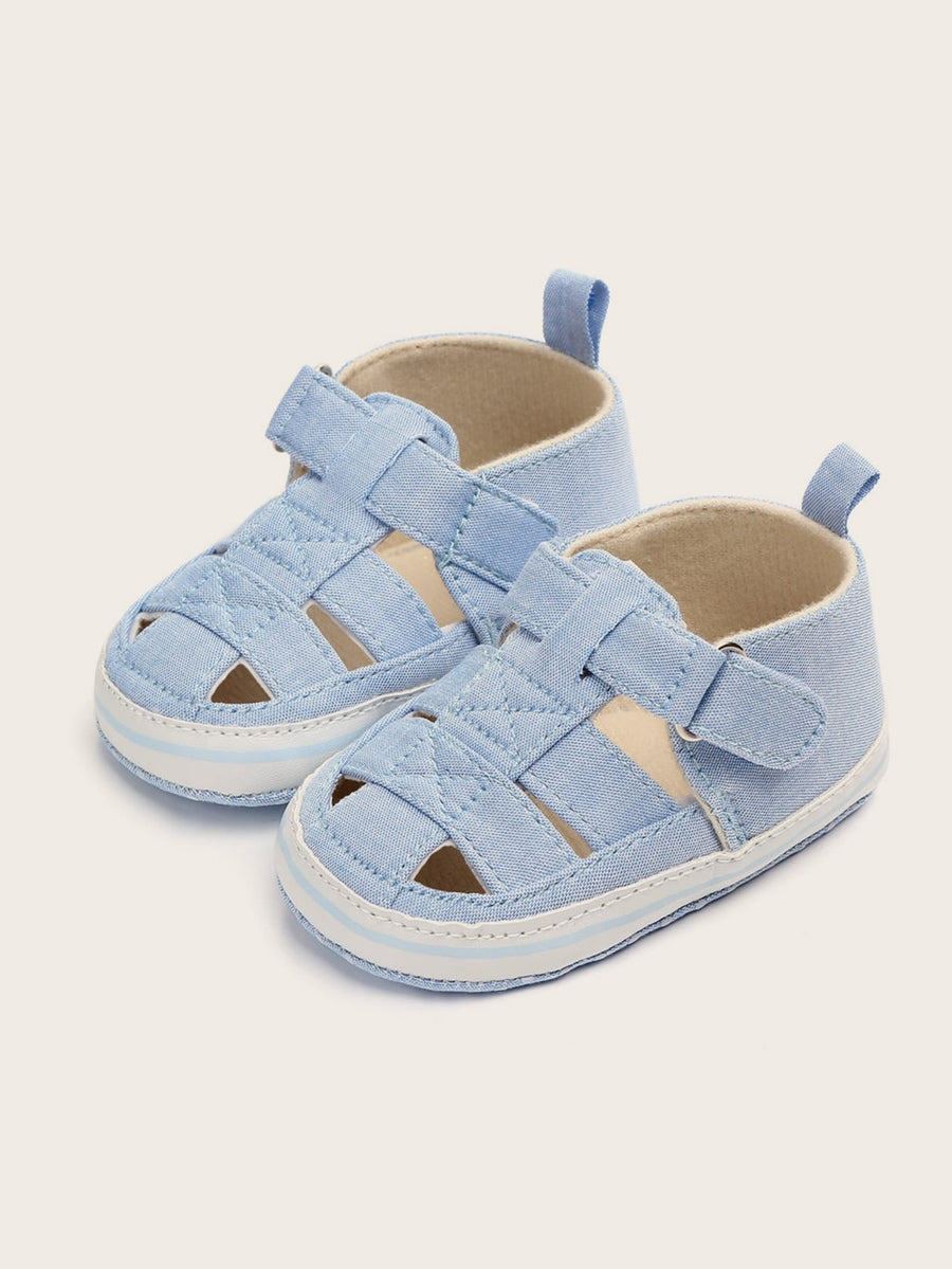 Baby Boys Cut Out Round Toe Sandals - QAS KIDS TORE