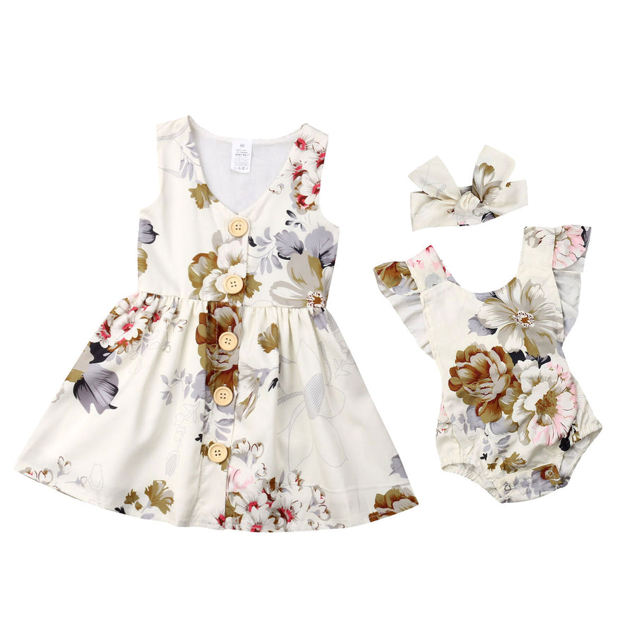 Summer Toddler Kid Baby Girls Dress - QAS KIDS TORE