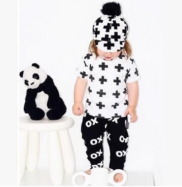 Newborn T-shirt+Pants Suit - QAS KIDS TORE