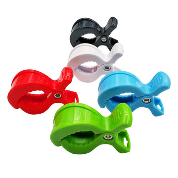 Colorful Car Seat Plastic Pushchair Toy Clip - QAS KIDS TORE