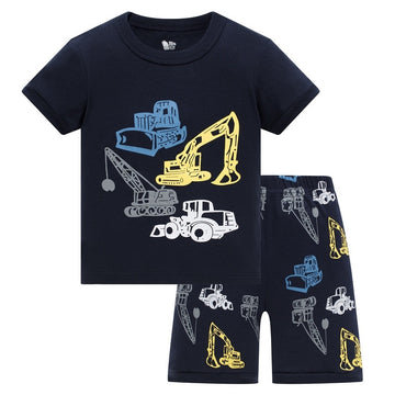 New Summer Children boys pajamas - QAS KID  STORE